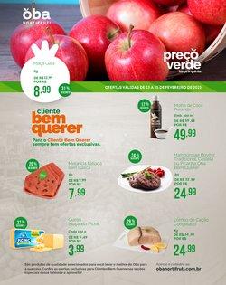 Ofertas Supermercados no catálogo Oba Hortifruti em Santos ( Vence hoje )