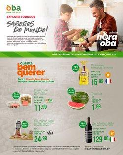 Ofertas Supermercados no catálogo Oba Hortifruti em Indaiatuba ( 3 dias mais )