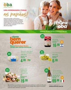 Ofertas de Dia das Mães no catálogo Oba Hortifruti (  Válido até amanhã)