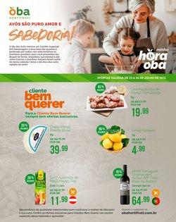 Ofertas de Supermercados no catálogo Oba Hortifruti (  Válido até amanhã)