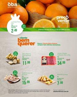 Ofertas de Supermercados no catálogo Oba Hortifruti (  Vence hoje)