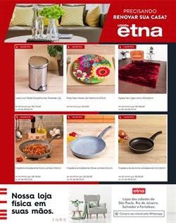Ofertas Casa e Decoração no catálogo Etna em Canoas ( 16 dias mais )