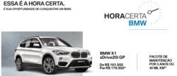 Promoção de Automóveis no folheto de BMW em São Luís
