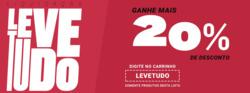 Promoção de Centauro no folheto de São Paulo