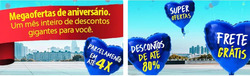 Promoção de Farmácias Pague Menos no folheto de Fortaleza