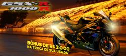 Promoção de Suzuki Motos no folheto de São Paulo