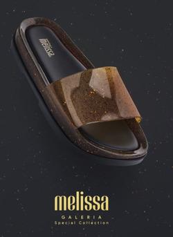 Promoção de Melissa no folheto de Porto Alegre