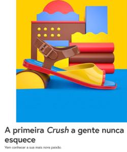 Promoção de Melissa no folheto de Curitiba