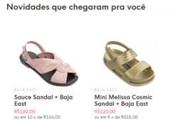 Promoção de Melissa no folheto de Nova Iguaçu