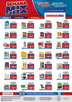 Ofertas de Bahamas Mix no catálogo Bahamas Mix (  4 dias mais)