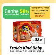 Oferta de Fraldas por R$32.99