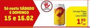 Oferta de Cerveja Pilsen Skol por R$1.89