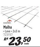 Oferta de Malha por R$23.5