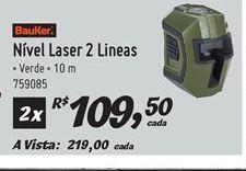Oferta de Nivelador à laser Bauker por R$219