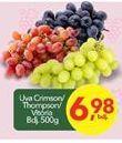 Oferta de Uvas por R$6.98