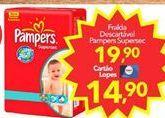 Oferta de Fraldas Pampers por R$19.9