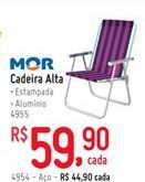 Oferta de Cadeira de praia Mor por R$59.9