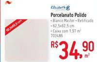 Oferta de Pisos Elizabeth por R$34.9