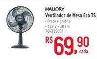Oferta de Ventilador Mallory por R$69.9
