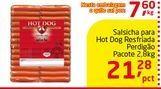 Oferta de Salsicha para Hot Dog Resfriada Perdigão por R$21.28
