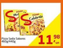 Oferta de Pizza Sadia Sabores por R$11.98