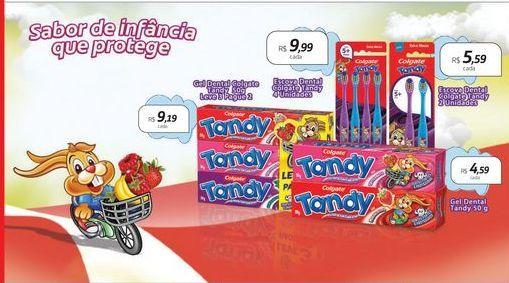 Oferta de Creme dental Tandy por