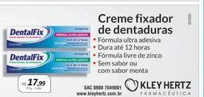 Oferta de Creme dental por