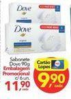 Oferta de Sabonete Dove por R$11,9