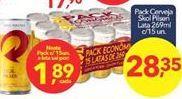 Oferta de Cerveja Skol por R$28,35