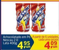 Oferta de Achocolatado em Pó Nescau 2.0 por