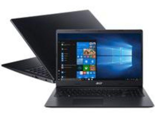 Oferta de Notebook Acer Aspire 3 A315-23G-R2SE AMD Ryzen 5 por R$3704,05