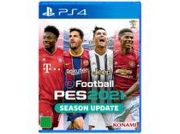 Oferta de EFootball PES 2021 para PS4 Konami por R$116,91