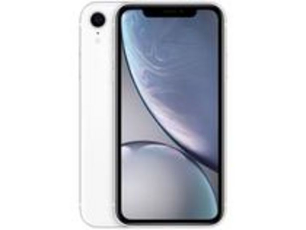 "Oferta de IPhone XR Apple 128GB Branco 6,1"" 12MP iOS por R$3869,1"