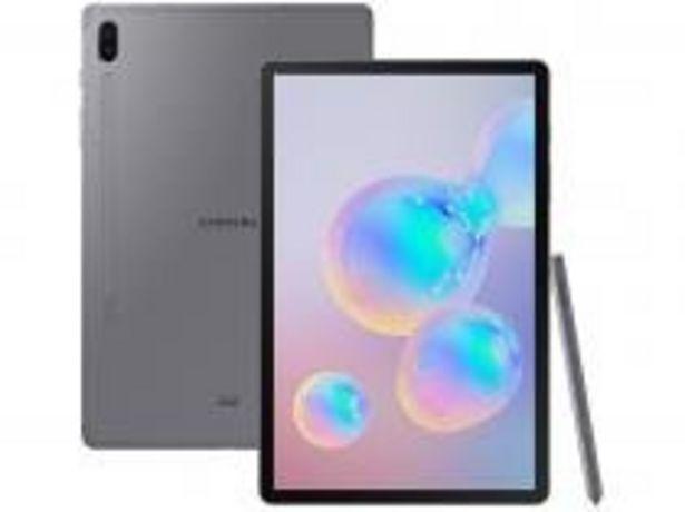 "Oferta de Tablet Samsung Galaxy Tab S6 128GB 10,5"" Wi-Fi por R$4049,91"