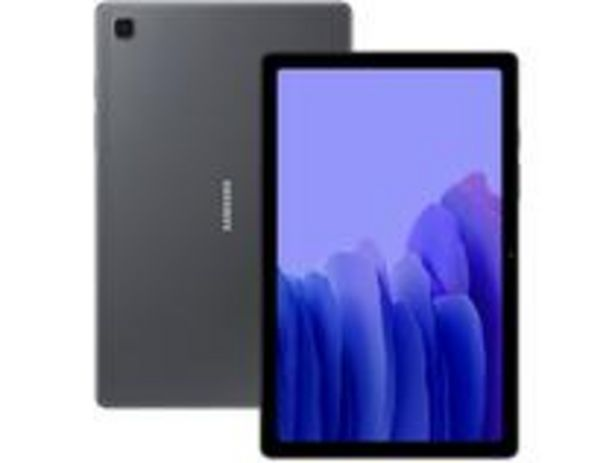 """Oferta de Tablet Samsung Galaxy Tab A7 10,4"""" Wi-Fi 64GB por R$1376,55"""