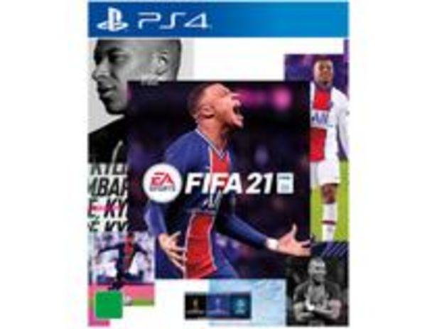 Oferta de FIFA 21 para PS4 EA por R$269,9