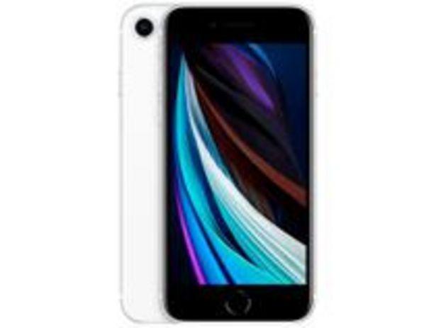 "Oferta de IPhone SE Apple 64GB Branco 4,7"" iOS por R$2510,07"