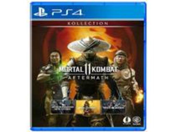 Oferta de Mortal Kombat 11: Aftermath para PS4 por R$185,91