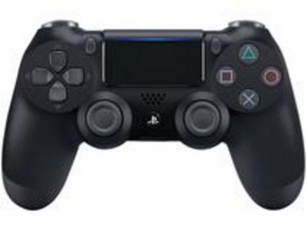Oferta de Controle para PS4 Sem Fio Dualshock 4 Sony por R$215,91