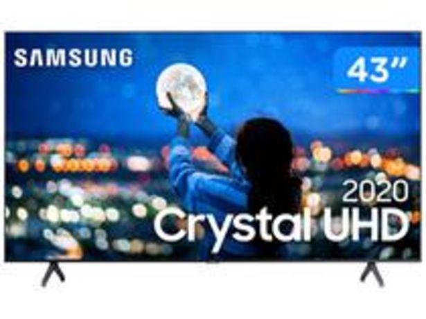 "Oferta de Smart TV Crystal UHD 4K LED 43"" Samsung por R$2279,05"