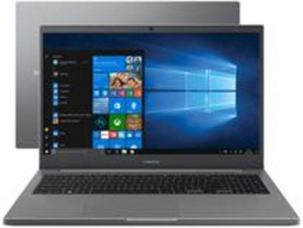 Oferta de Notebook Samsung Book NP550XDA-KT3BR Intel Core i3 por R$3134,05