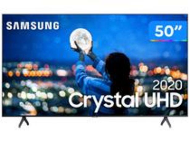 "Oferta de Smart TV Crystal UHD 4K LED 50"" Samsung por R$2659,05"