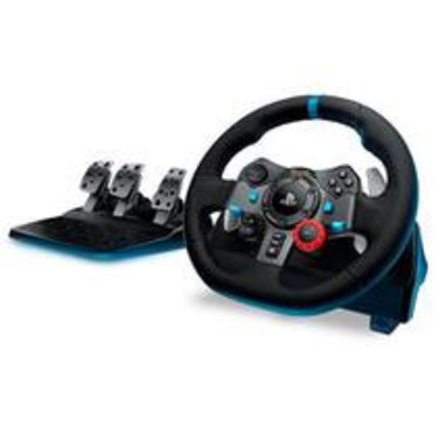 Oferta de Volante Logitech Driving Force G29 Para PS4 / PS3 / PC Preto por R$1989,05