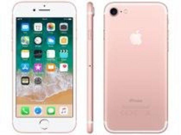 "Oferta de IPhone 7 Apple 32GB Ouro Rosa 4G Tela 4.7"" Retina por R$1989"