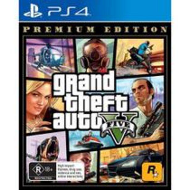 Oferta de Grand Theft Auto V - Ps4 por R$151,81