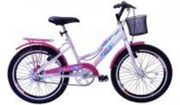 Oferta de Bicicleta Aro 20 Feminina New Lady Aer Branco/Aces Pk C/Ct por R$673,98