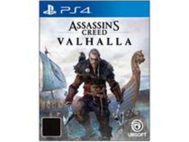 Oferta de Assassins Creed Valhalla para PS4 Ubisoft por R$233,91