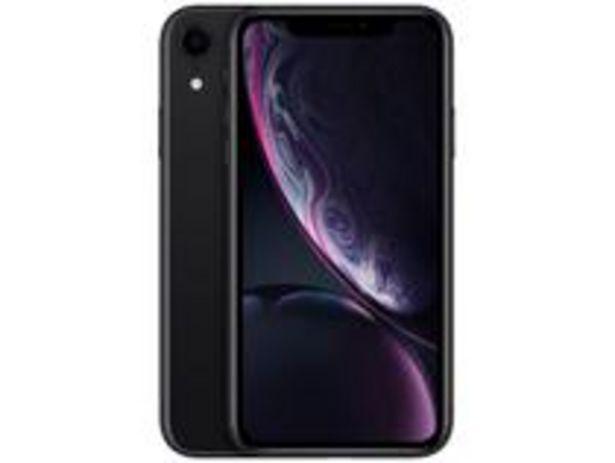 "Oferta de IPhone XR Apple 64GB Preto 6,1"" 12MP iOS por R$3499,99"