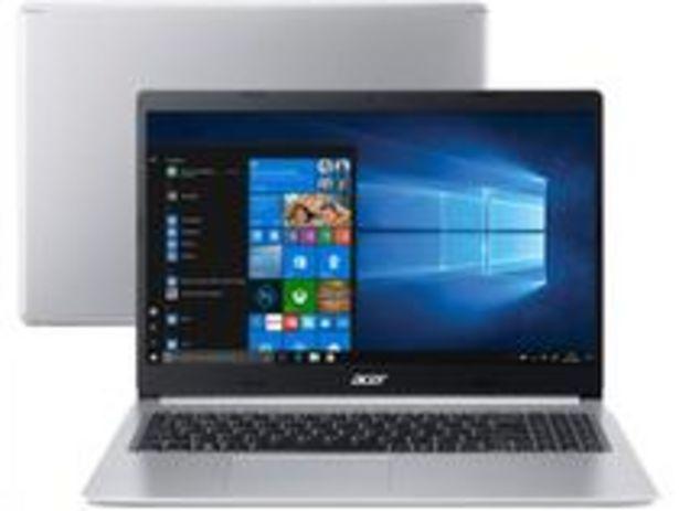 Oferta de Notebook Acer Aspire 5 A515-54G-53GP Intel Core i5 por R$3704,05