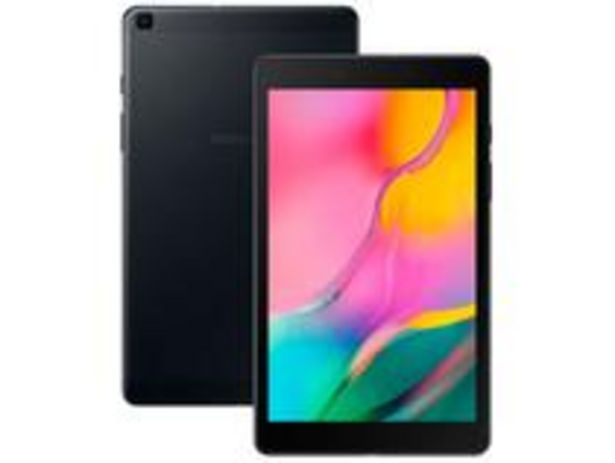 """Oferta de Tablet Samsung Galaxy Tab A T290 32GB 8"""" Wi-Fi por R$899,1"""
